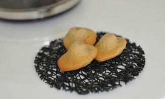 Mini madeleines rhum et café