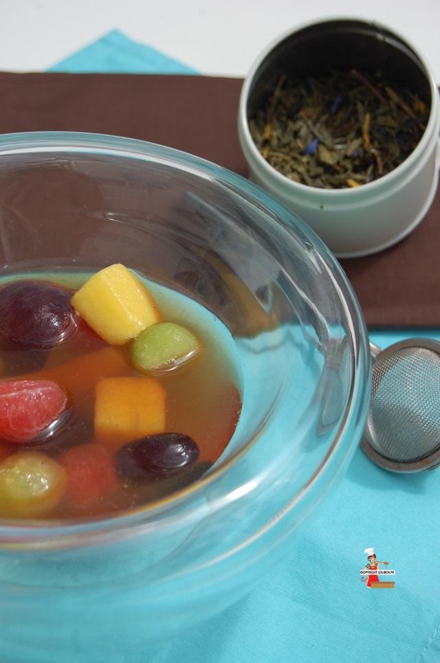 Salade De Fruits Exotiques Au Th 233 Recettes De Desserts