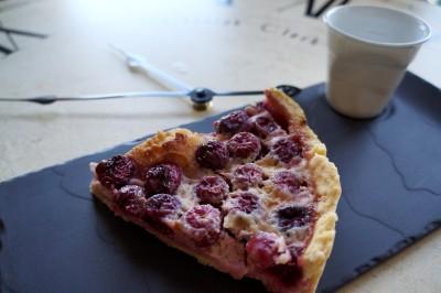 Tarte aux cerises,recette de dessert