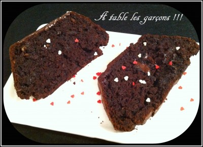 Cake chococourgettes