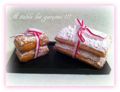 Biscuits roses de Reims recette maison