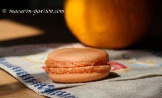 Macarons orange curd