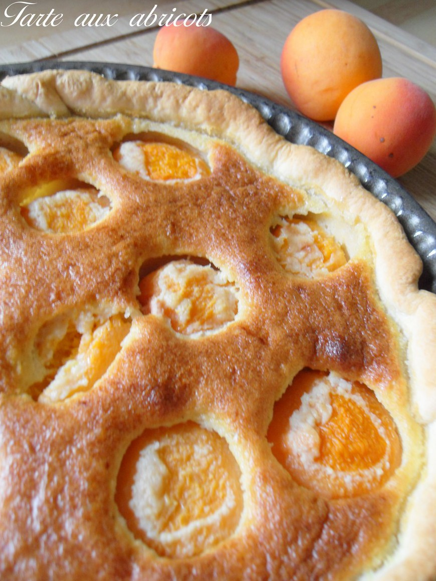 Tarte aux abricots recette facile - Recette de tarte aux abricots ...