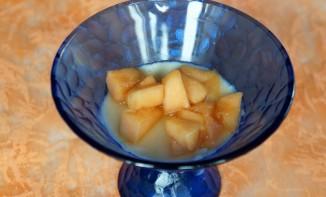 Panna Cotta vanille melon