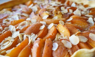 Tarte abricots cannelle