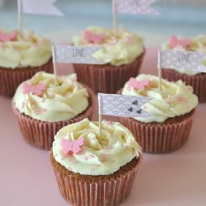 Cupcakes thé au bonbon
