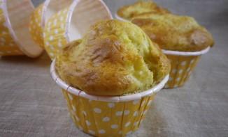 Muffins pommes et fleur d'oranger