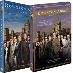 Coffret dvd Downton Abbey Saison 1 et 2