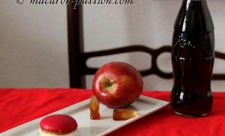 Macarons pomme coca