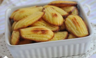 Madeleines au pamplemousse