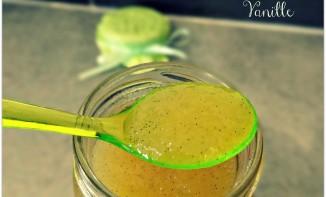Confiture de concombre, gingembre et vanille