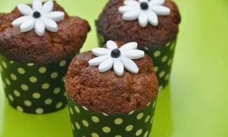 Muffins chocolat lavande