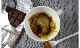 Mug cake chocolat et vanille