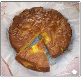 Gâteau aux poires et aux oeufs d'oie