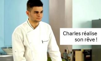 Charles réalise son rêve : un studio cuisine !