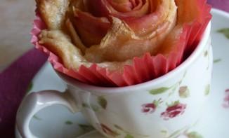 Tartelettes aux pommes façon bouquet de roses, Saint-Valentin