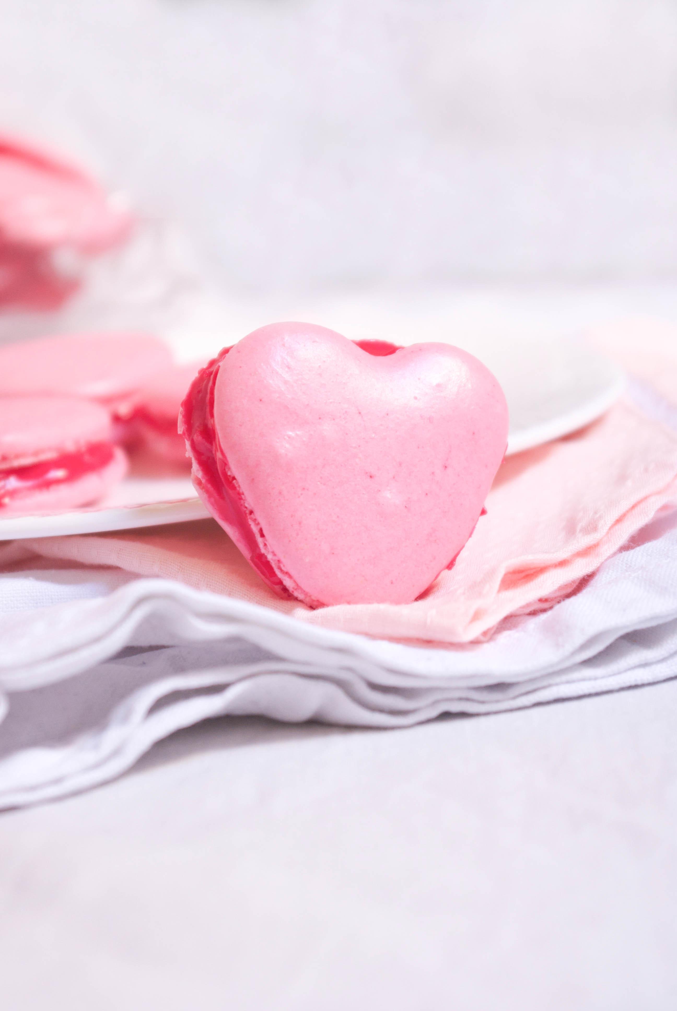 Macarons coeur recette pour la saint valentin - Coeur pour la saint valentin ...