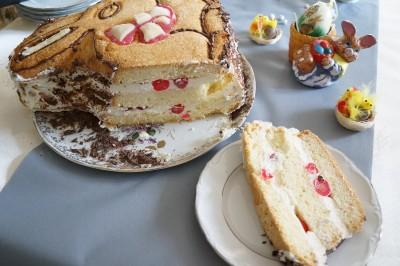 Gâteau Lapin chantilly