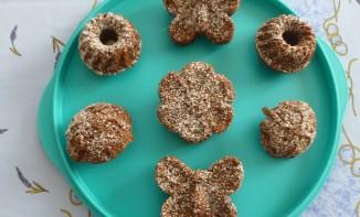 Mini gâteaux chocolat noix de coco