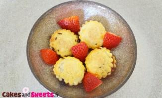 Feuilletés aux fraises