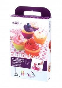 Les desserts de l'été lot 2 kit cupcakes