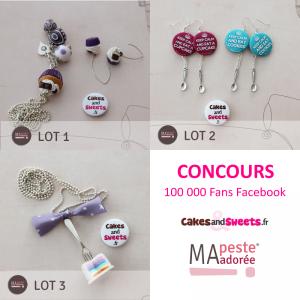Concours 100 000 fans facebook avec Ma Peste Adorée