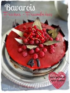 Bavarois Fraises Framboises (sans gluten et sans caséine)