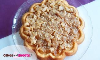 Biscuit pommes caramélisées