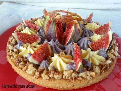 Gourmandise Figue Violette sans Lactose et sans Gluten