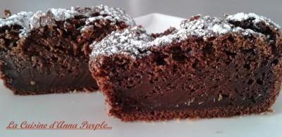 Cake au chocolat noir et Philadelphia