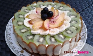 Cheesecake sans cuisson aux Fruits