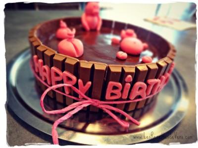 Gâteau « La mare aux cochons »