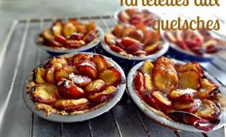 Tartelettes aux quetsches (sans gluten et sans caséine)