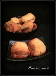 Biscuits à la pâte de coing