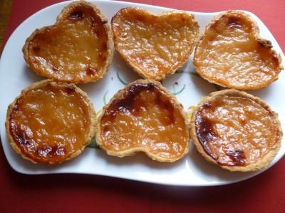 Tartelettes à la compote de Pommes