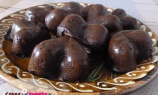 Coeurs pommes chocolat