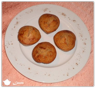Muffins cannelle citron