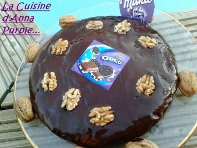 Gâteau noix Oreo