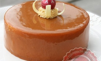 Entremets Pommes Caramel - Carapple