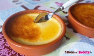 Crèmes Caramel aux oeufs