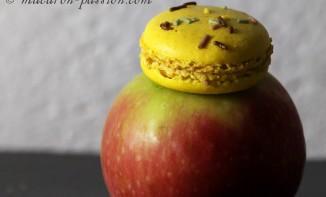 Macarons pomme bonbons banane