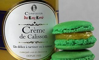 Macarons crème de calisson