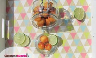 Cannelés citron vert