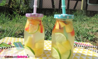 Detox Water Eau de Coco Fruits