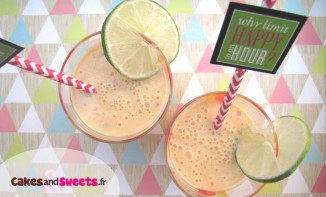 Smoothie Melon Pêche Abricot