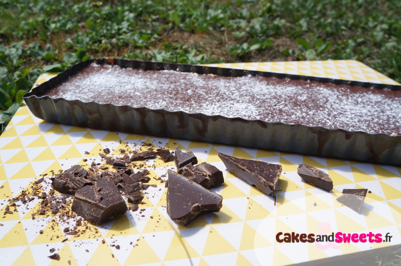 Tarte Chocolat Fève Tonka