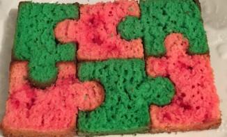 Gâteau puzzle