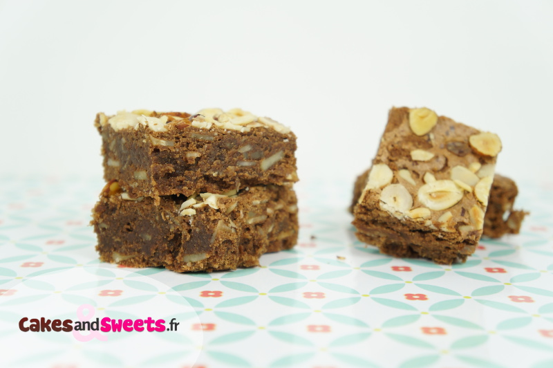Brownie Chocolat Noisettes