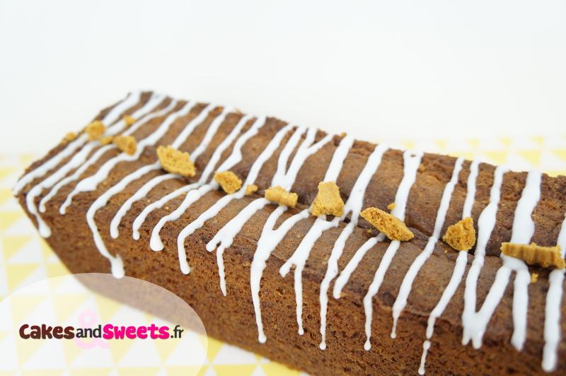 Cake Spéculoos Chocolat blanc