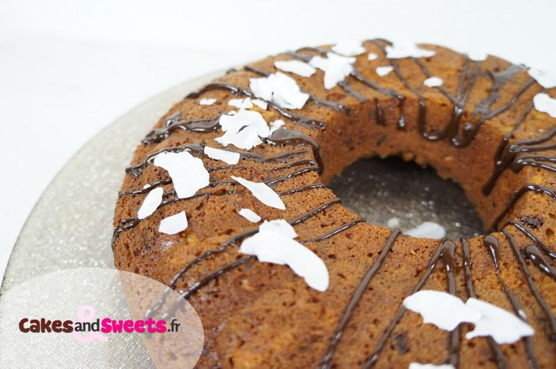 Gâteau Banane Chocolat Coco